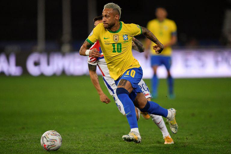 Neymar Junior, la estrella de Brasil