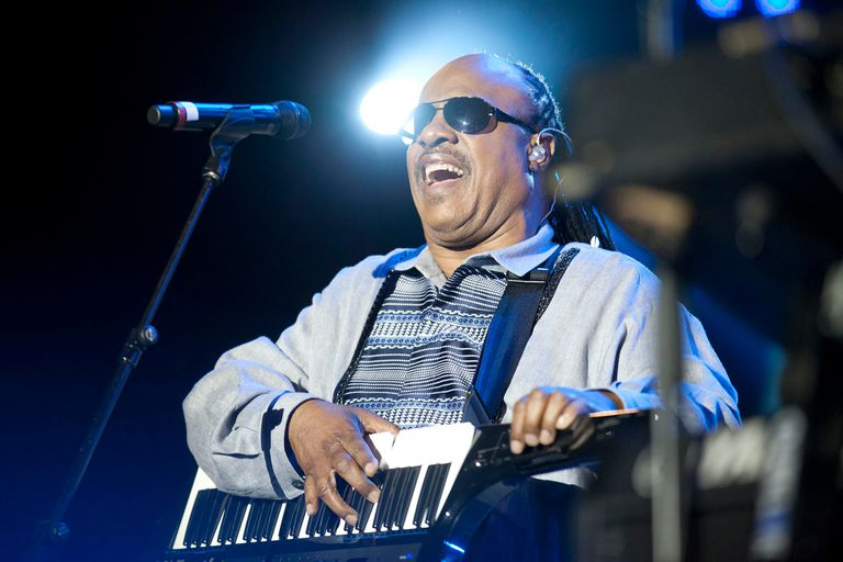 Stevie Wonder en Rock in Rio, en 2012
