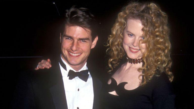Tom Cruise y Nicole Kidman, en los noventa
