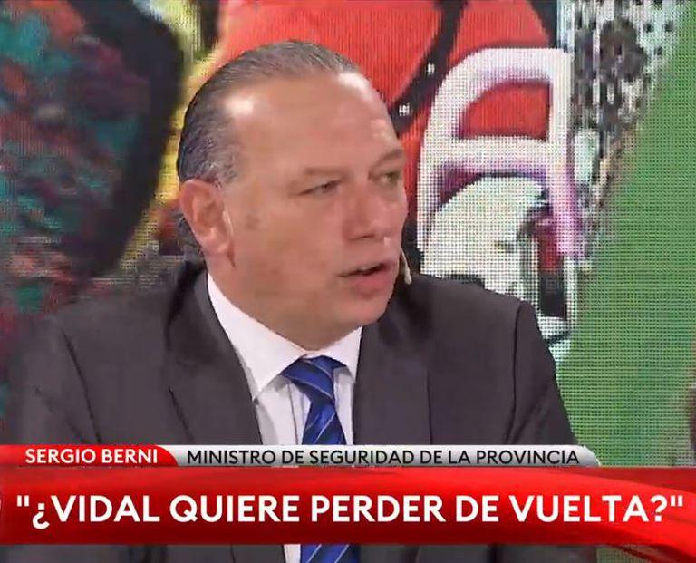 La chicana de Sergio Berni a María Eugenia Vidal por las elecciones