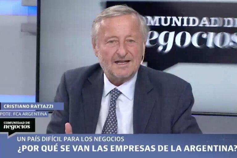 """Cristiano Rattazzi: """"Hacemos cola para hacernos pobres"""""""