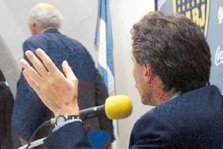 La tarde en que Bianchi se hartó y dejó a Macri hablando solo