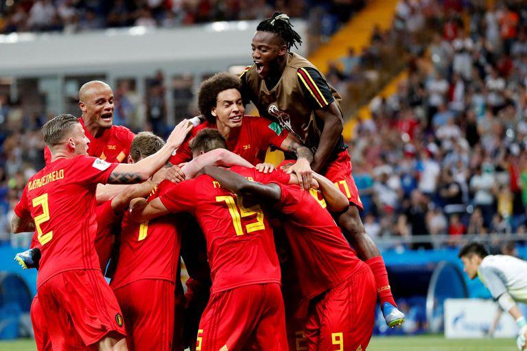 Bélgica le ganó a Japón y pasó a cuartos de final