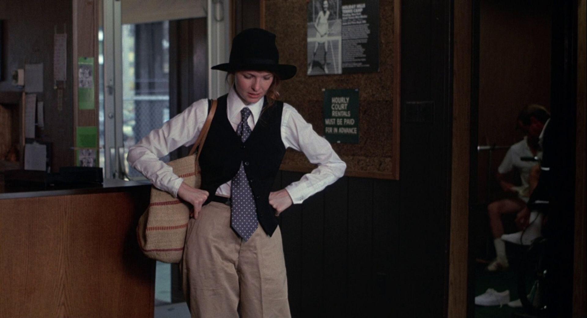 Keaton en una escena de Annie Hall