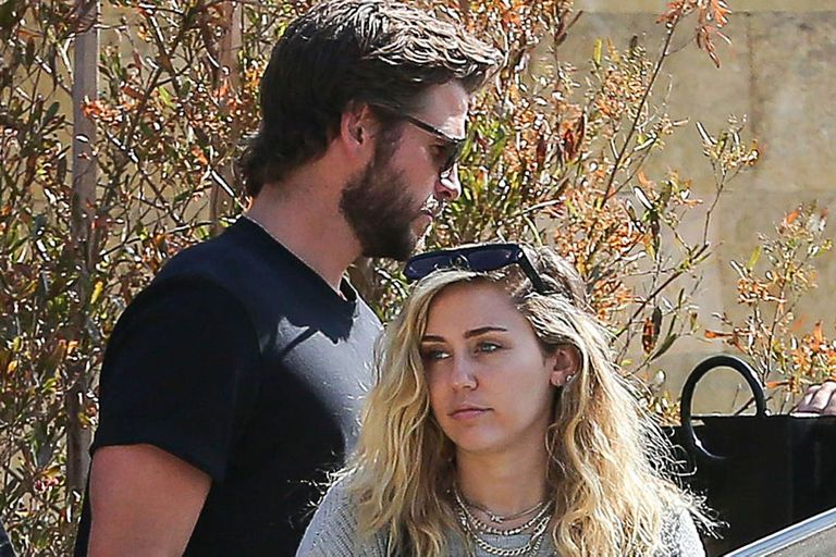 Caminos por separado. Miley Cyrus y su ahora ex marido