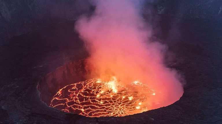 El Nyiragongo es uno de los volcanes más activos del mundo
