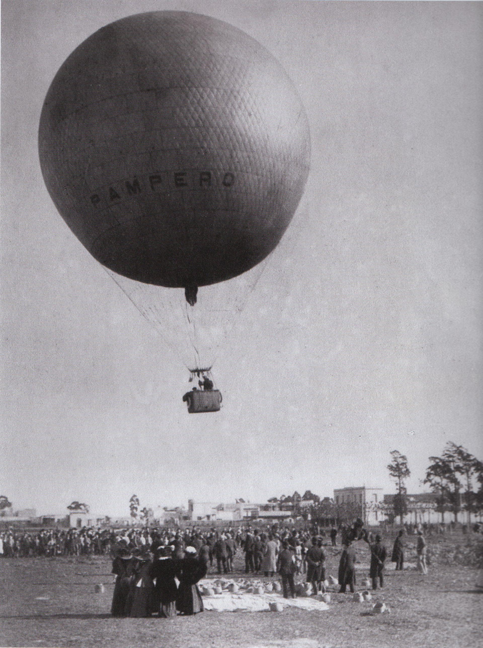 La vida del Pampero fue muy breve: de diciembre de 1907 (foto) a octubre de 1908.