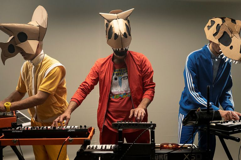 El rap de los dinosaurios es uno de los hits de Koufequin.