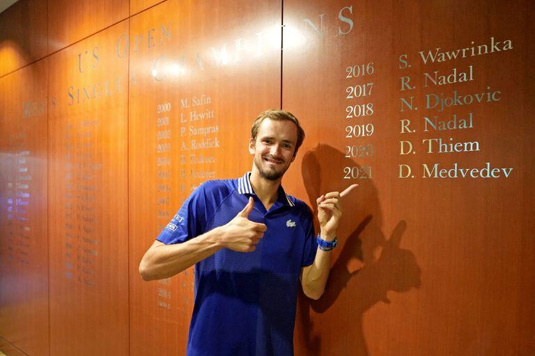 Daniil Medvedev, el hombre de hielo que se adueñó de la fiesta preparada para Djokovic