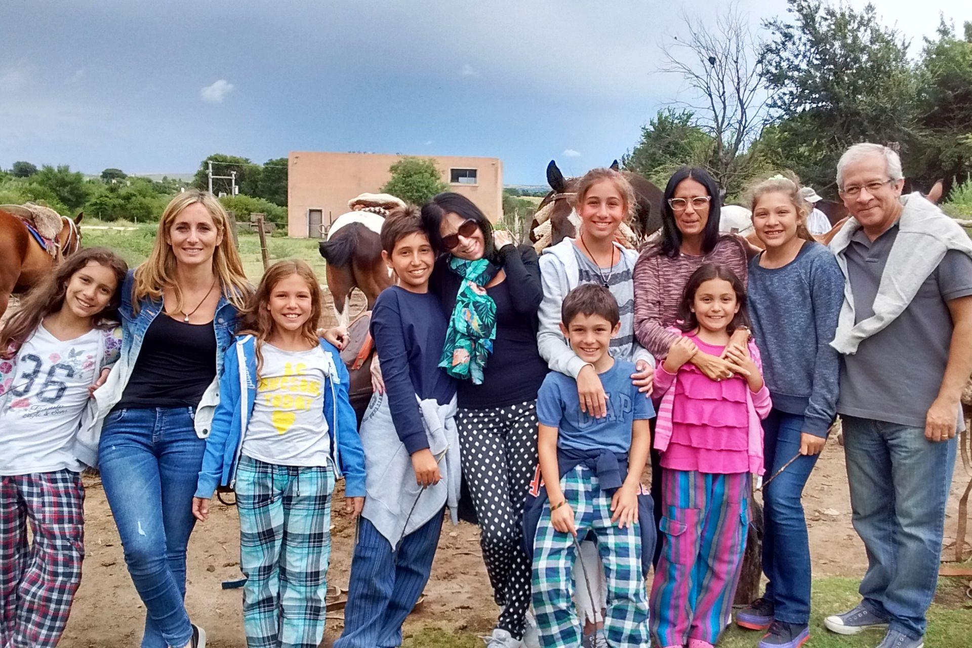 Paula regresó junto a sus hijos a la Argentina y se sintió en casa desde el primer día.