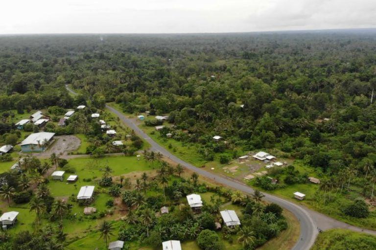 La isla de Bougainville en Papúa Nueva Guinea
