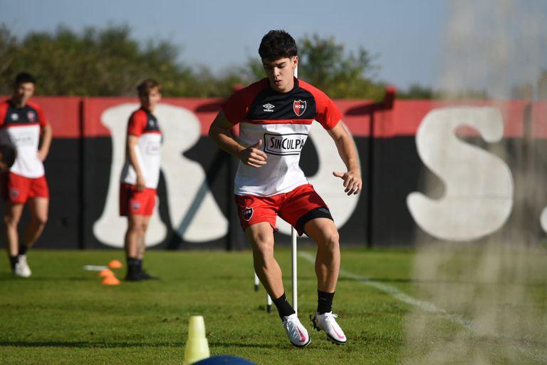 Luciano Cingolani, uno de los jóvenes delanteros que tendrá Gamboa en Newell's