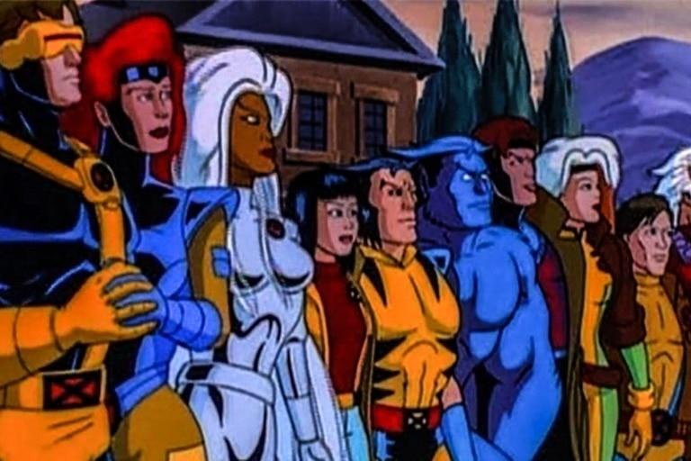 X-Men, en su versión de 1989