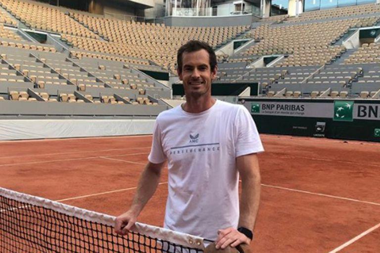 """Murray: la emoción de volver a Roland Garros y una práctica con """"el verdugo"""""""