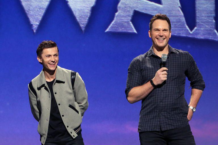 Tom Holland y Chris Pratt