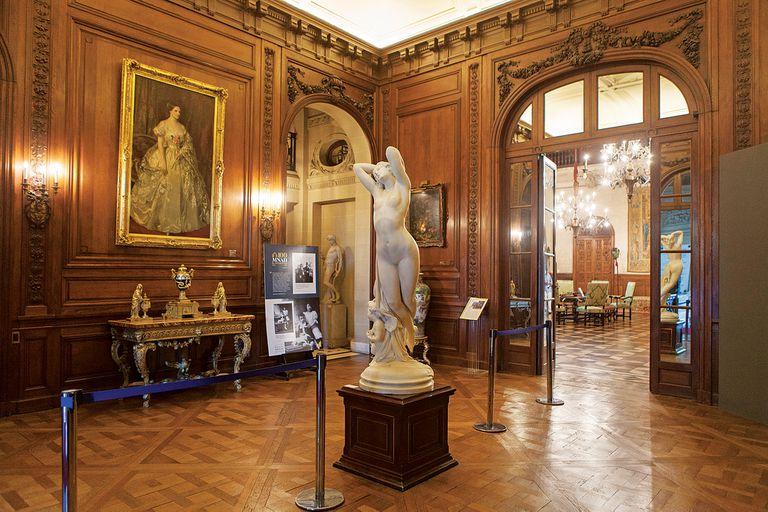 La casa-museo recrea los estilos más significativos del arte decorativo y de la decoración europea de los siglos XVIII y XIX