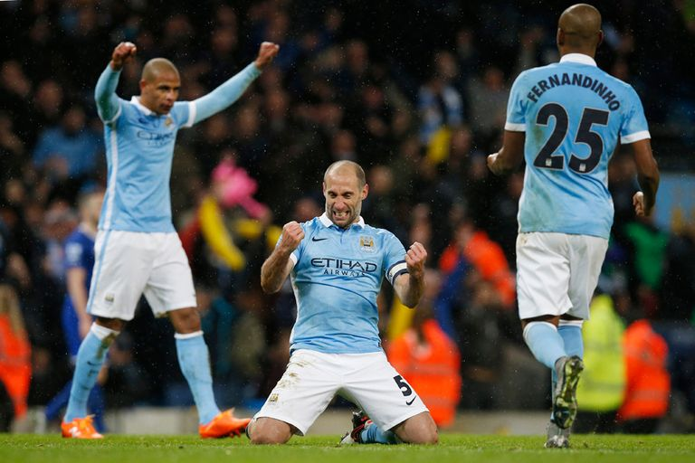 Manchester City festejó ante Aston Villa