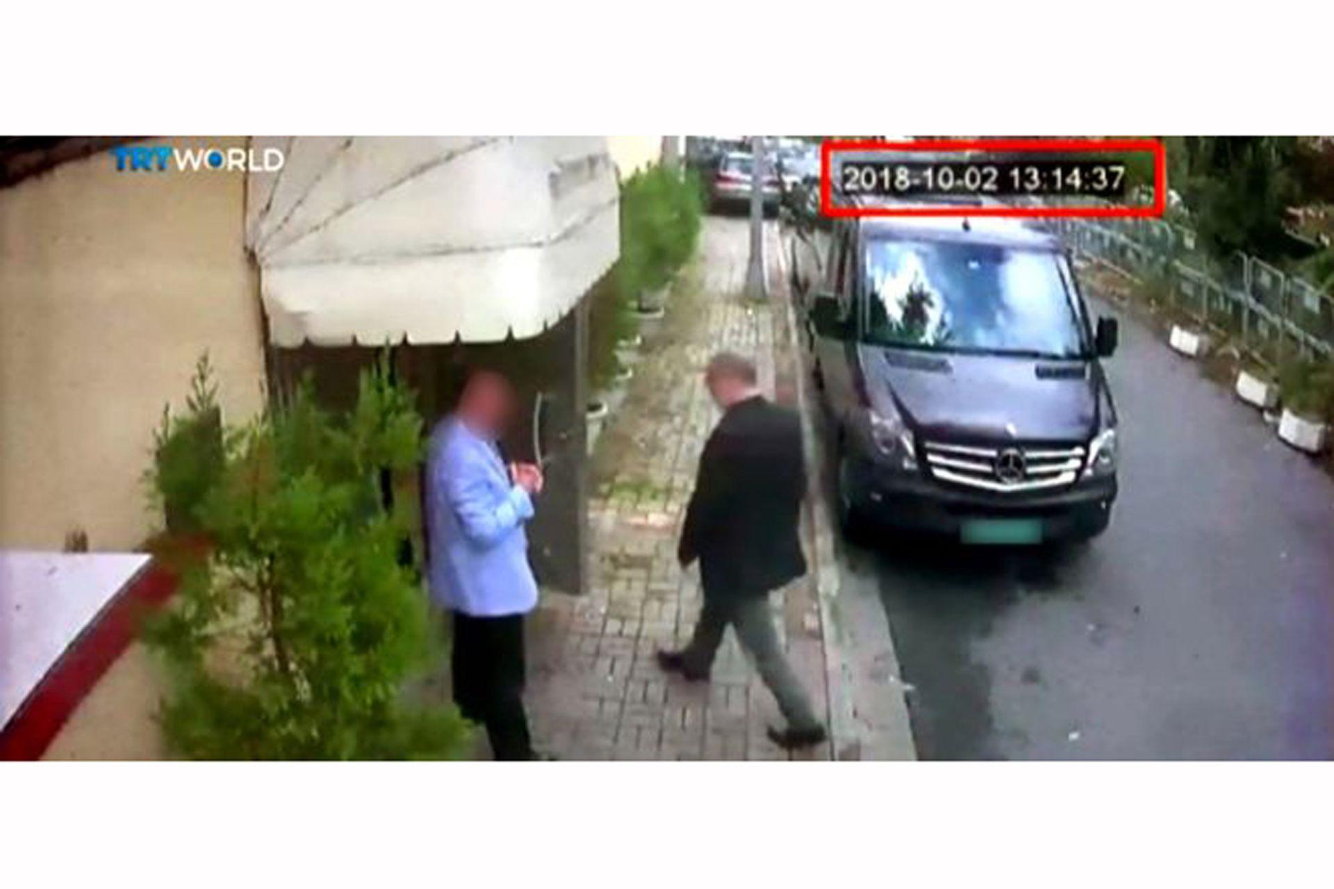 Jamal Khashoggi entró en el consulado de Arabia Saudita en Estambul, Turquía, el 2 de octubre de 2018 y no volvió a salir