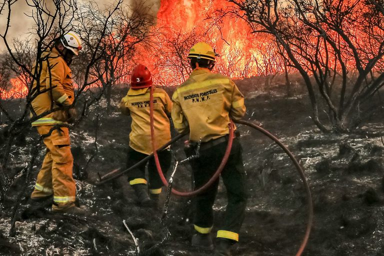 Incendios récord en Córdoba: en qué se parecen a los de California