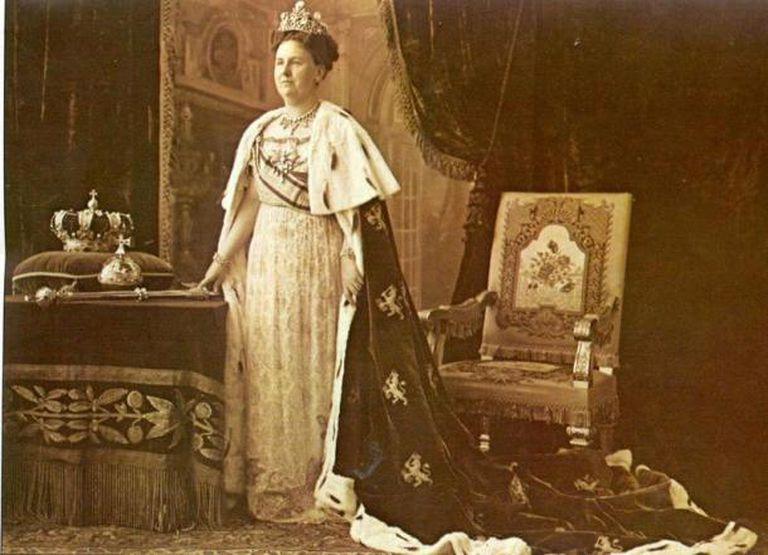 Guillermina anunció su compromiso con el duque Enrique de Mecklenburg en 1900, celebrándose la boda el 7 de febrero de 1901. Ese día, el pueblo de Ámsterdam se lanzó a las calles a celebrar la boda de su Soberana.