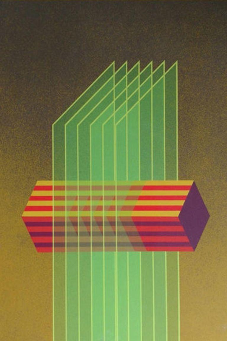 Composición transversal (detalle), de Julio Le Parc en LYV Gallery