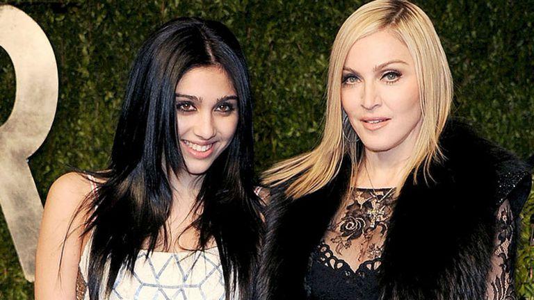 Madonna y su hija, inseparables