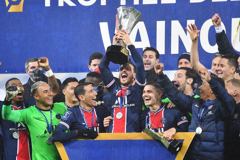 Campeones: pase de Di María, gol de Icardi y título para Pochettino... y PSG