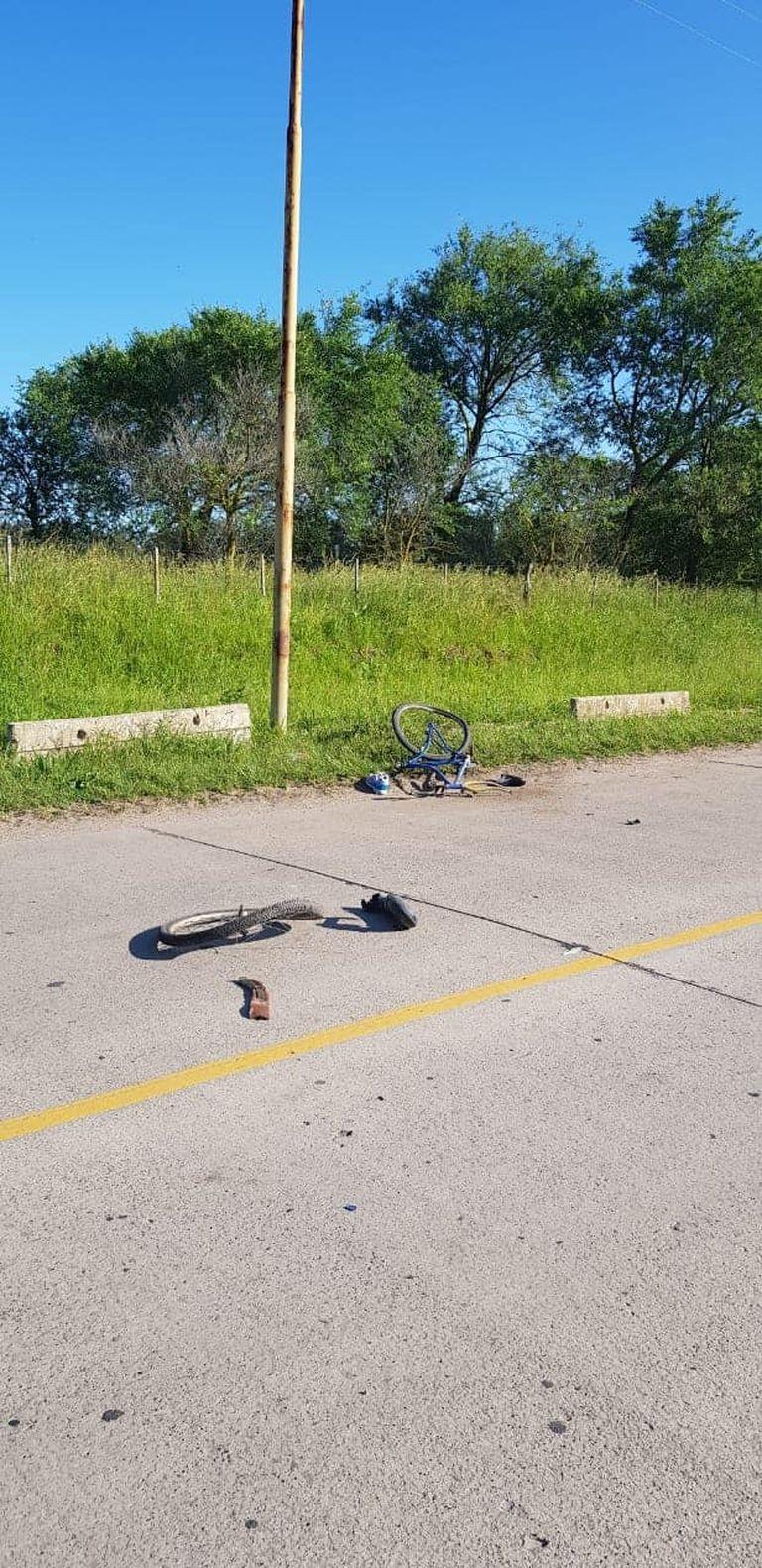 Accidente en Miramar