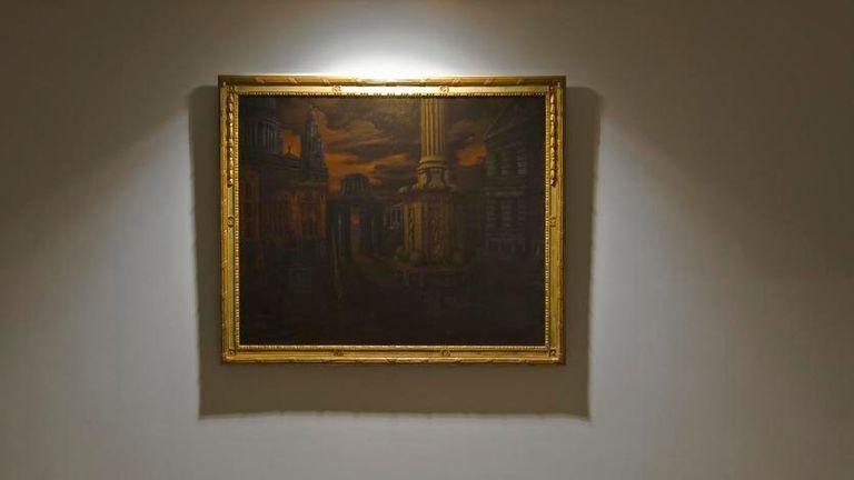 Una de las obras de Bronstein