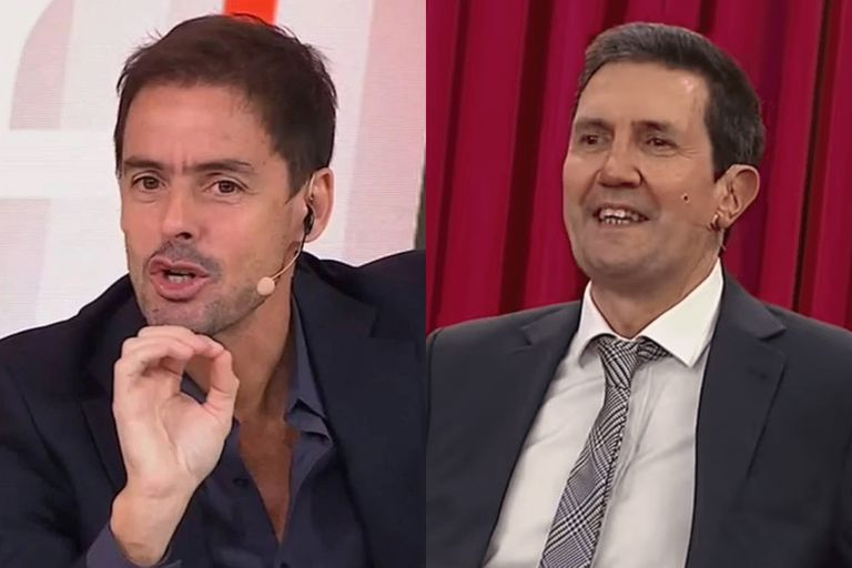 Mariano Closs y Miguel Simón, los relatores de la final de la Champions League