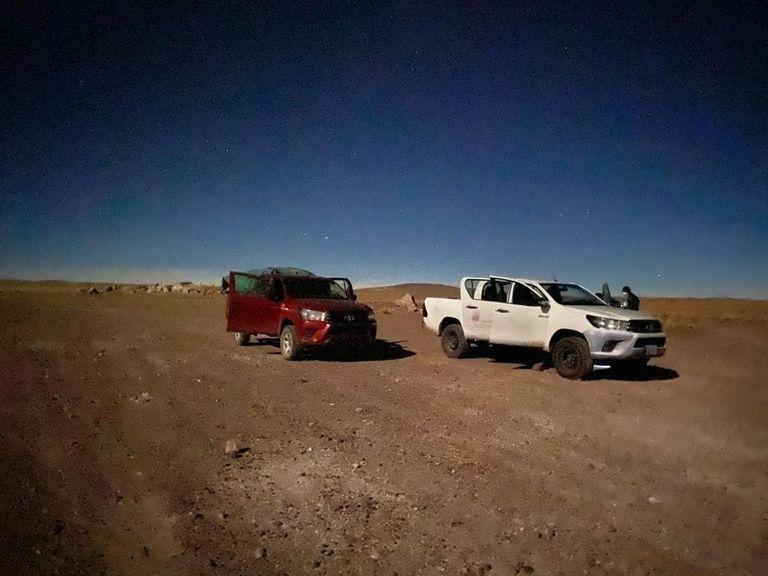 Secuestro de 42 kilos de cocaína y 105 kilos de marihuana que eran traficados hacia Chile a través de una zona inhóspita de la Puna, cerca de San Antonio de los Cobres, Salta