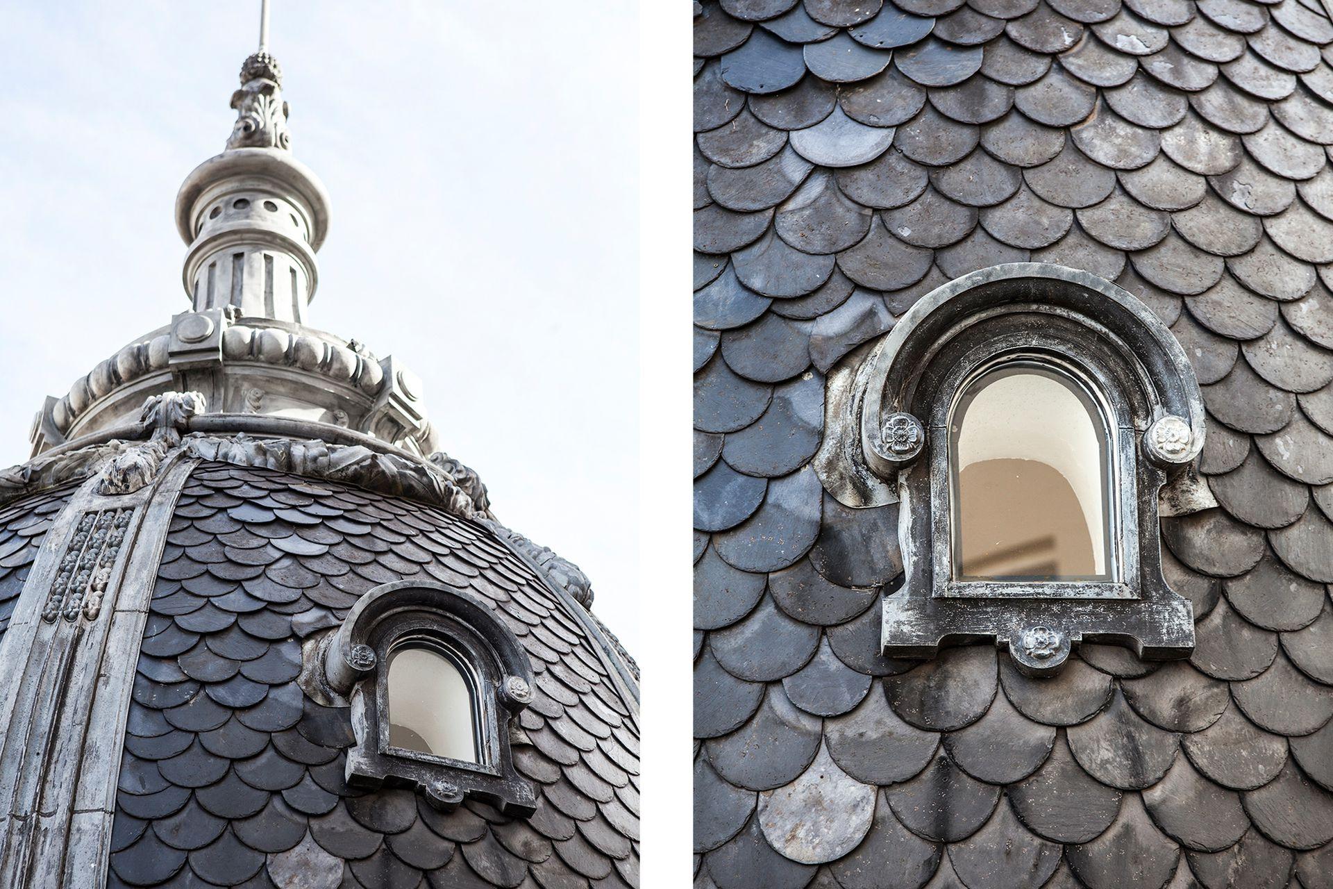 El estudio The Alchemist restauró por completo la terraza y el domo de la cúpula de 1914 diseñada por el arquitecto italiano Arnoldo Albertolli.