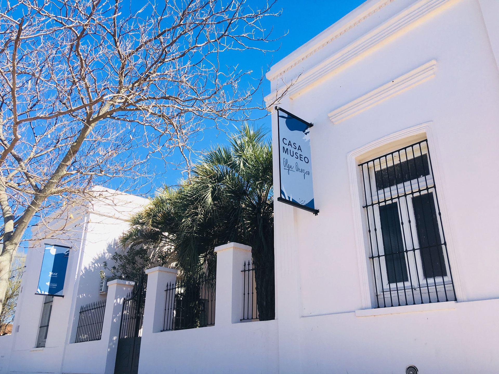 Fachada de la casa donde la poetisa Olga Orozco vivió hasta los 8 años.