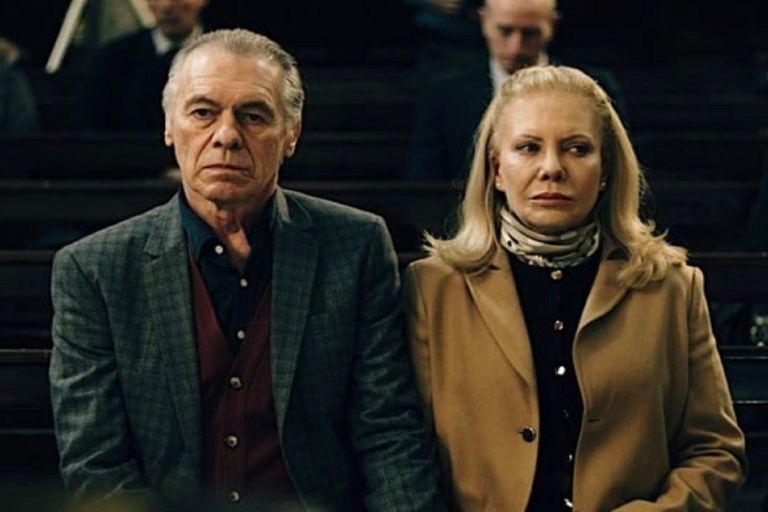 Miguel Ángel Solá y Cecilia Roth, en una escena del nuevo film argentino que estrenará Netflix el 20 de agosto