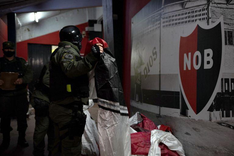 Allanamientos en el estadio de Newell´s en Rosario