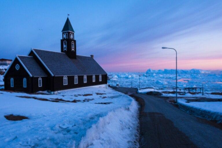 A los groenlandeses les gusta el invierno