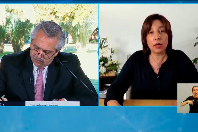 Después de las tensiones, Alberto Fernández habló con la gobernadora de Río Negro