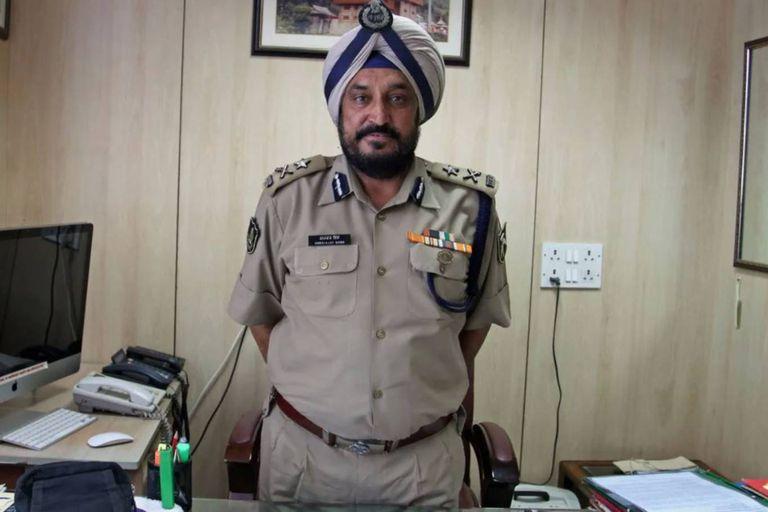 Harbhajan Singh, el comandante de la ITBP que estuvo al frente del grupo de Paljor en la expedición al Everest, y el único que sobrevivió