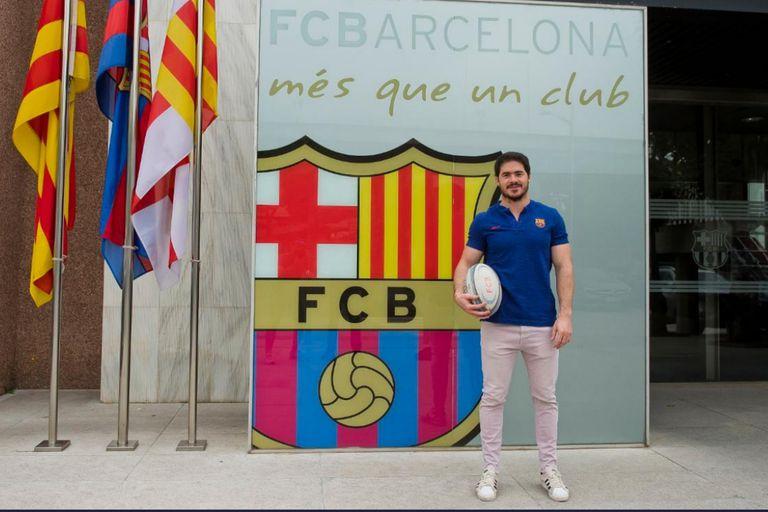 Bautista Güemes sigue en Barcelona, parte de un rugby español que se encuentra en plena expansión.
