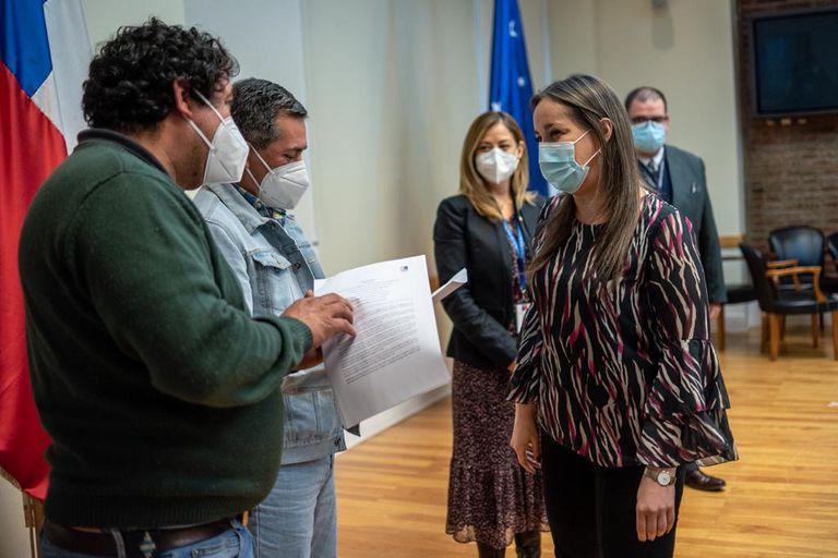 Tierra del Fuego: se levantó el corte de los camioneros chilenos