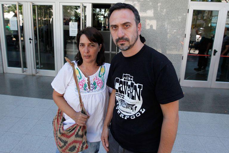 María Luján Rey y Paolo Menghini