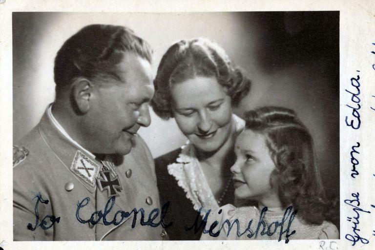 Hermann Göring, Emmy Sonnemann y Edda Göring