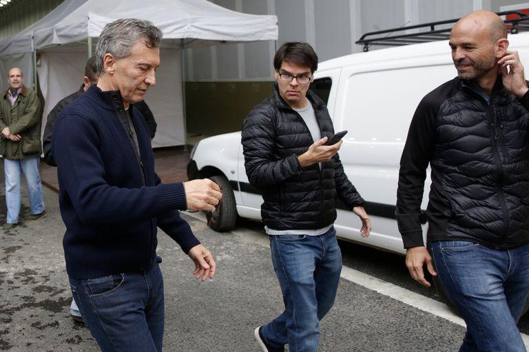 El juez Federico Villena ordenó el allanamiento de la casa de Dario Nieto, secretario de Mauricio Macri, y le secuestró el teléfono y la computadora