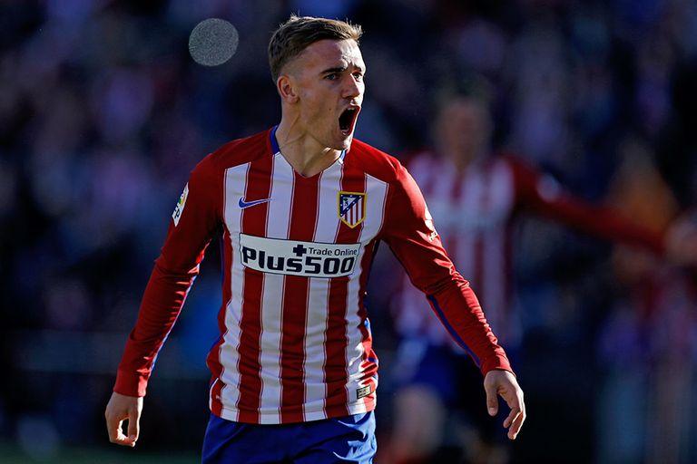 Con un gol de Griezmann, Atlético festejó ante Rayo