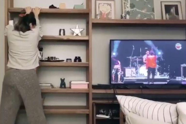 Video: Paula Chaves se mostró bailando en pleno trabajo de parto