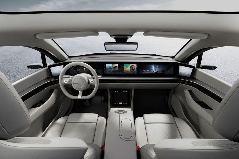 Viision S: así sueña Sony su auto eléctrico