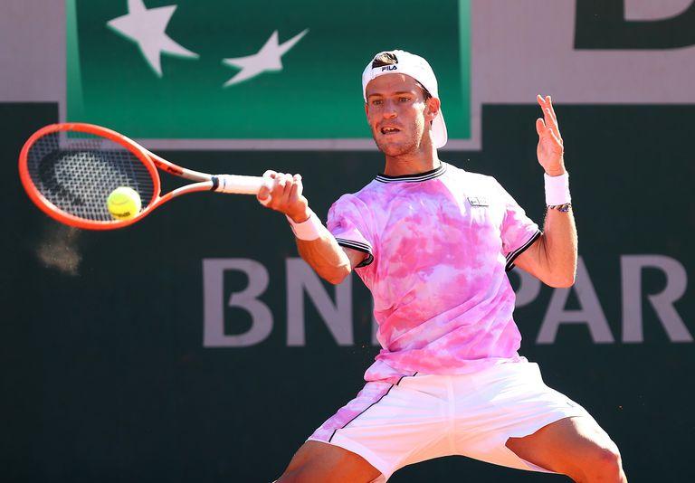 """""""¡No me digas!"""" La reacción de Schwartzman ante la prensa en Roland Garros"""