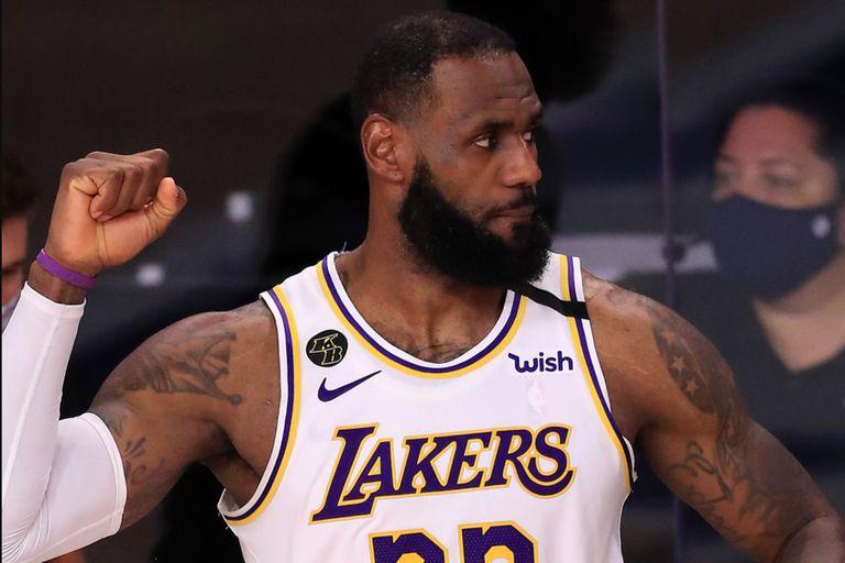 LeBron James, el máximo ganador en la historia de la NBA en playoffs con 162 victorias