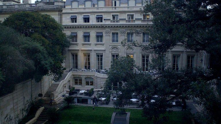 Cómo es por dentro el Palacio Duhau, el lujoso hotel en que se hospeda Máxima