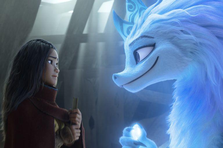 Raya y el último dragón se estrenará en cine y en Disney+ al mismo tiempo